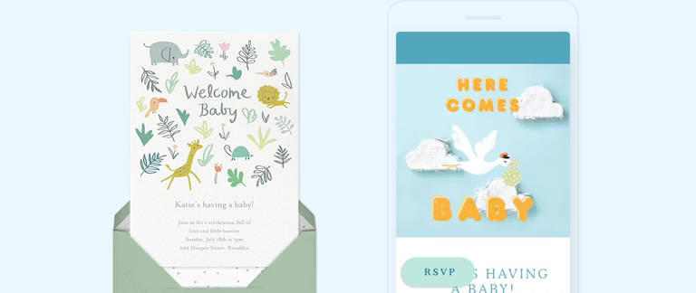 Here are our tips to plan the best party. Baby Shower Invitations Send Online Instantly Rsvp Tracking
