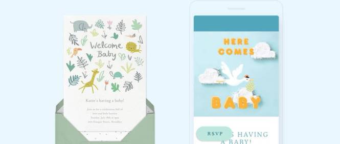 Baby Shower Invitations Send Online