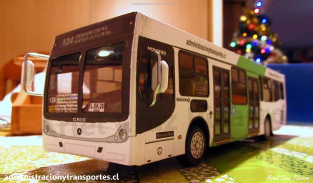 Nuevo Bus Transantiago B2P