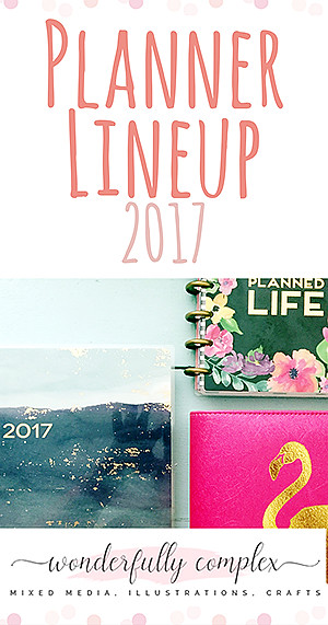 Planner Lineup 2017