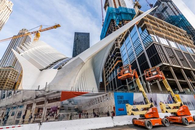 WTC Transportation Under Construction