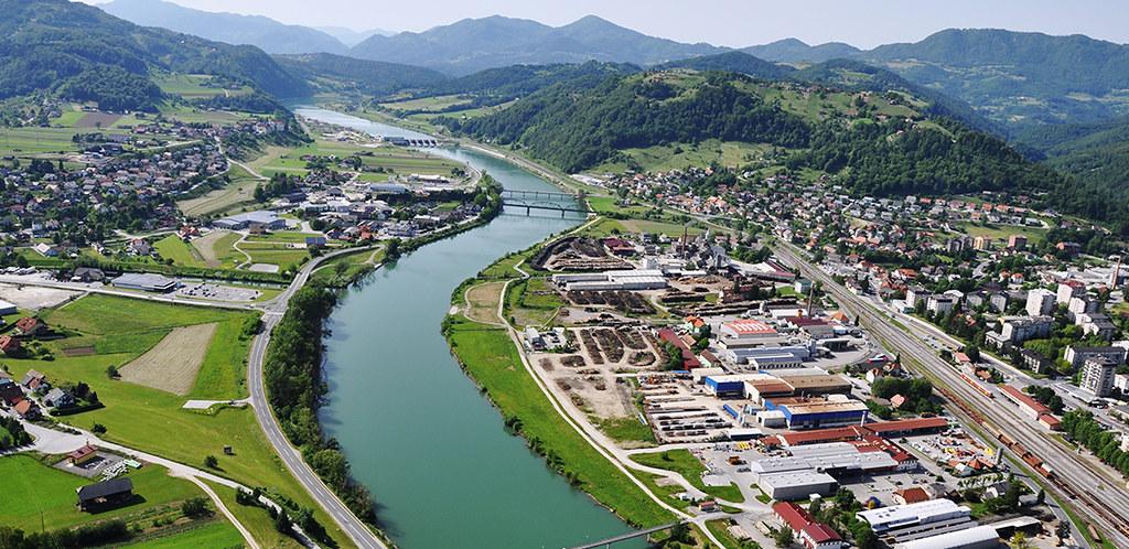 圖說:Melania的家鄉Sevnica