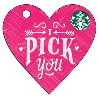Valentine's card-pink