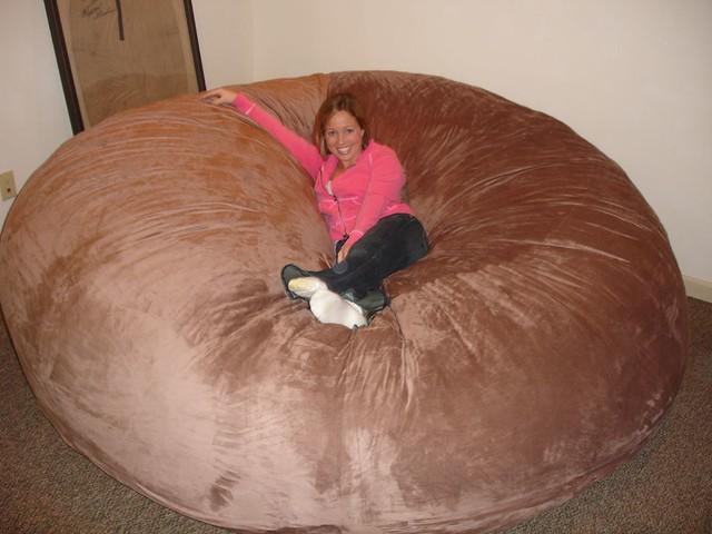 love sac chair vintage herman miller huge bean bag lovesac comfy sack fombag flickr by comfysacks
