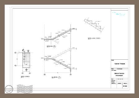 Contoh Tangga Rumah Minimalis Home Interior Design