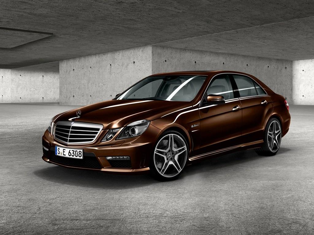 3d World Wallpaper World E63 Amg W212 052 Designo Mystic Brown Mercedes Benz