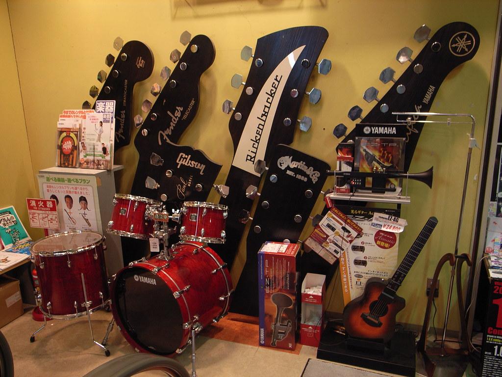 Musical instrument store  Toshiyuki IMAI  Flickr