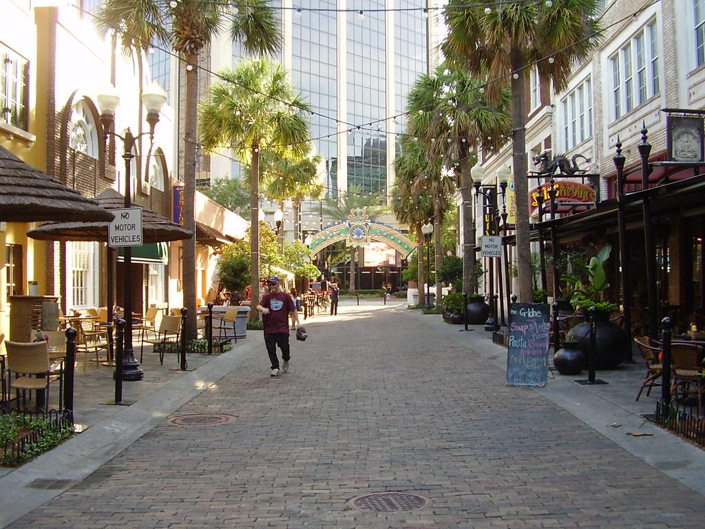 Wall Street Plaza Downtown Orlando Florida Downtown