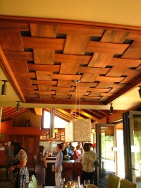 Sunset House Dining Room Ceiling--Woven Wood | Sunset ...