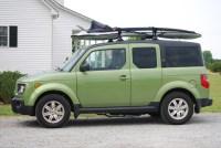 new Yakima roof racks | on our 2007 Honda Element | Flickr