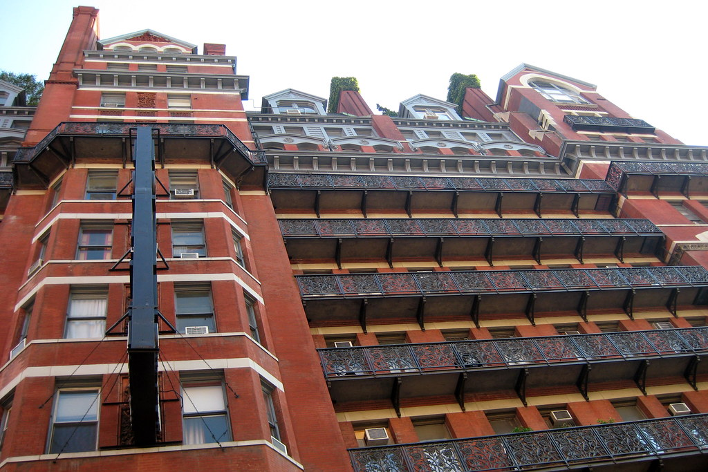 Nyc Chelsea Hotel Chelsea The Hotel Chelsea Built In