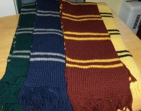 Hogwarts House Scarves | Flickr - Photo Sharing!