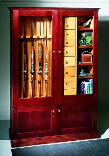 fly rod and gun cabinet  Gun Cabinets  Vigilant Wine