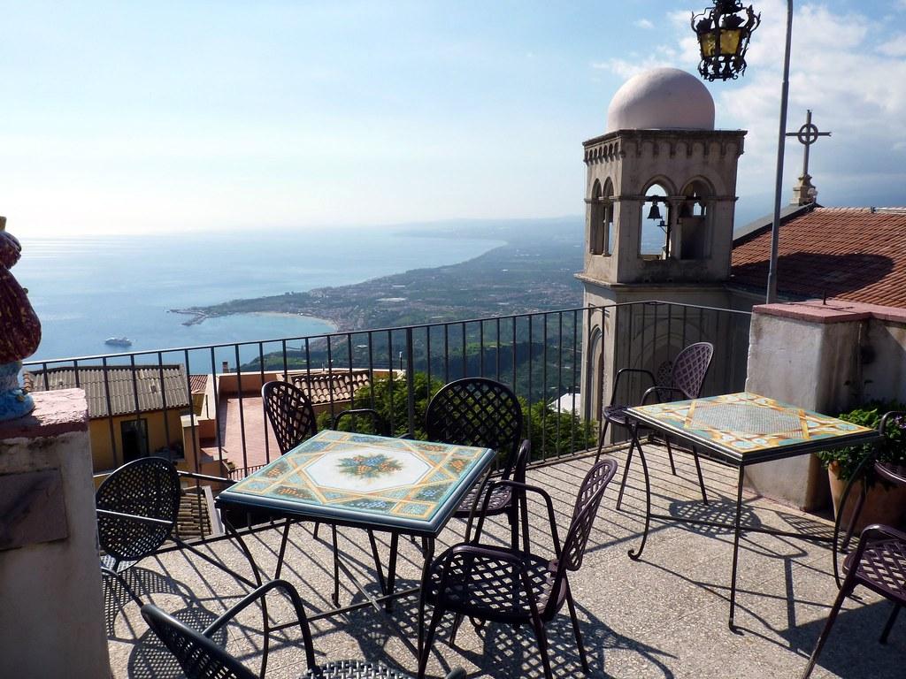 Castelmola Me  La terrazza panoramica del Bar Turrisi  Flickr