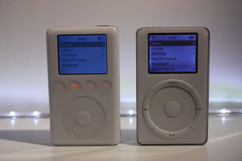 iPod 2nd Gen 10GB v iPod 3rd Gen 40GB  Part five of my iPod  Flickr