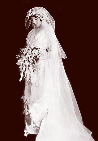 1914 Wedding Dress  Wedding dress from 1914 LCDIG
