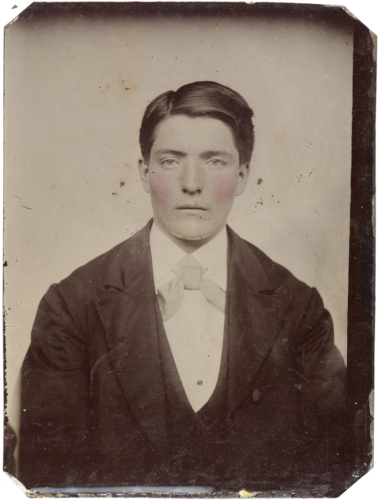 Young Man With Rosy Cheeks Ca 1856 1900 SFFf 100499