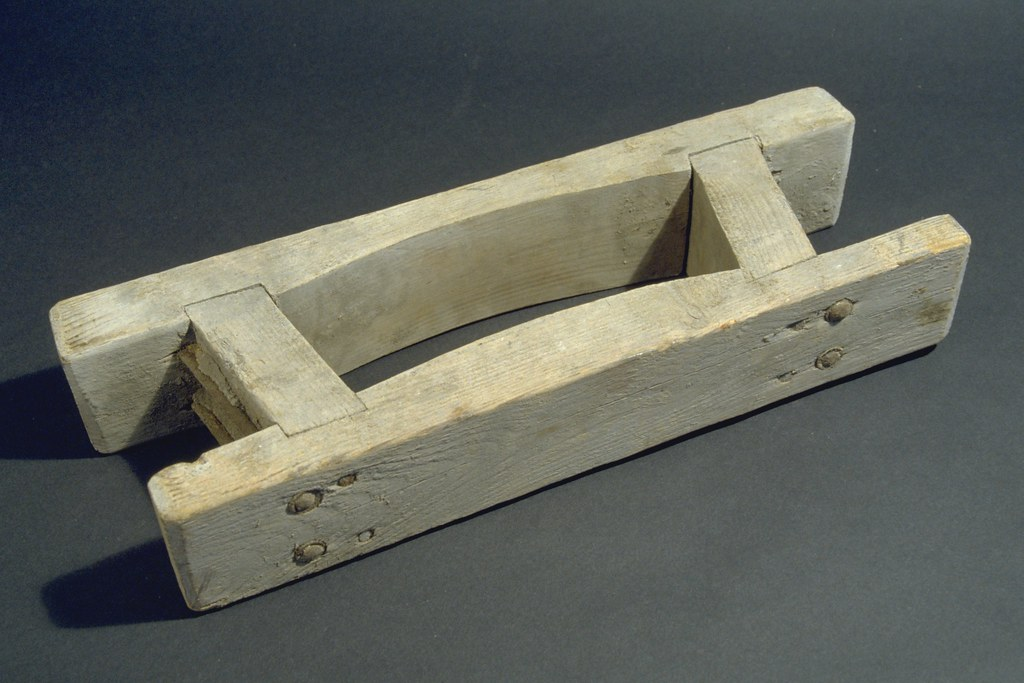 Wood brick mould  Hand crafted curved bricks made from