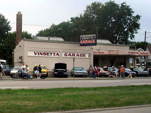 Vinsetta Garage  Very cool joint on Woodward  Ron  Flickr