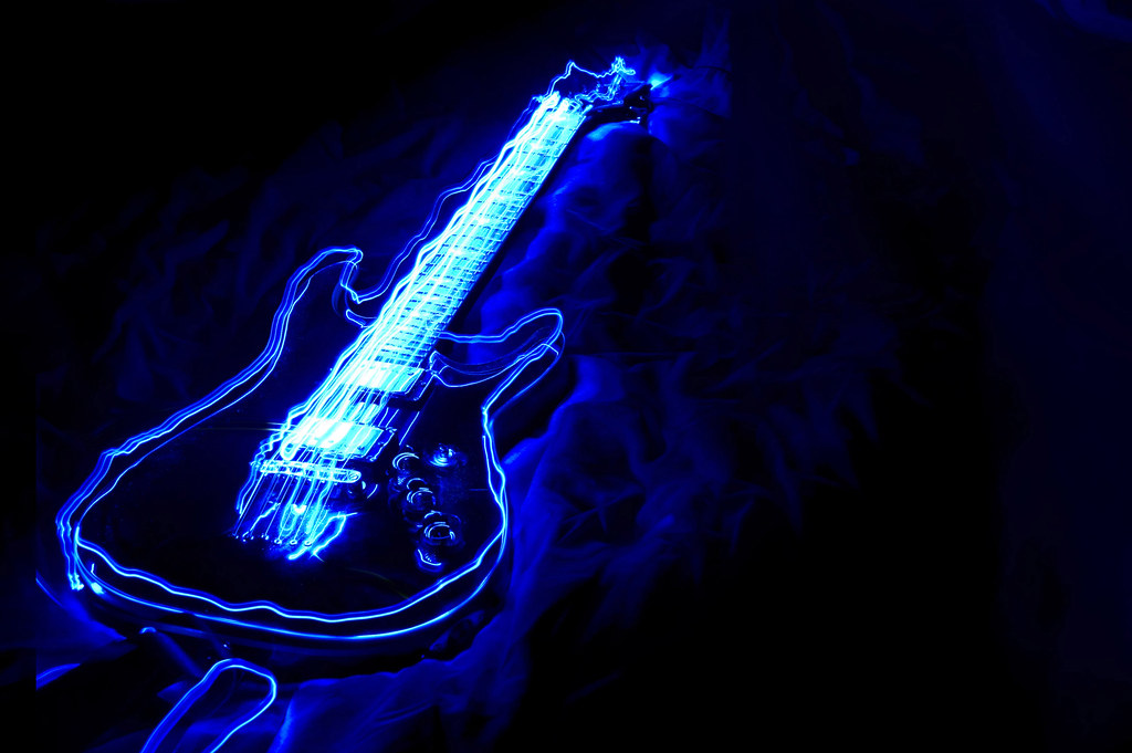 Acoustic Guitar Wallpaper For Facebook Cover With Quotes Light Paint My First Attempt Of Light Painting With My