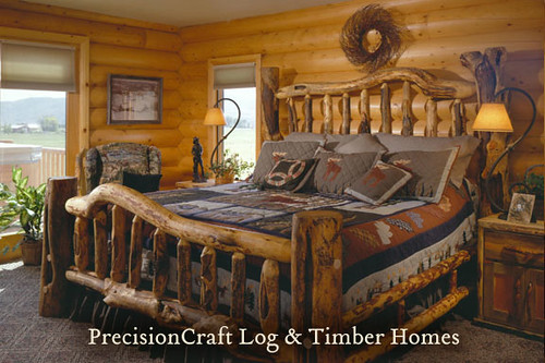 A PrecisionCraft Milled Log Home  Located in Utah  Flickr