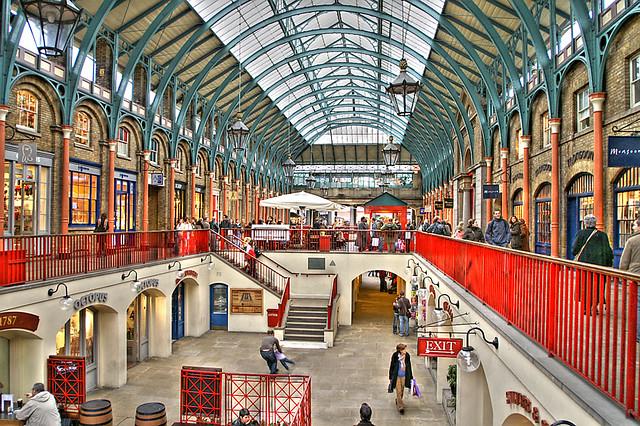 Covent Garden Market  London  Artizen HDR fattal History