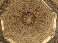 India - Udaipur - 041 - beautifully carved ceiling at the ...