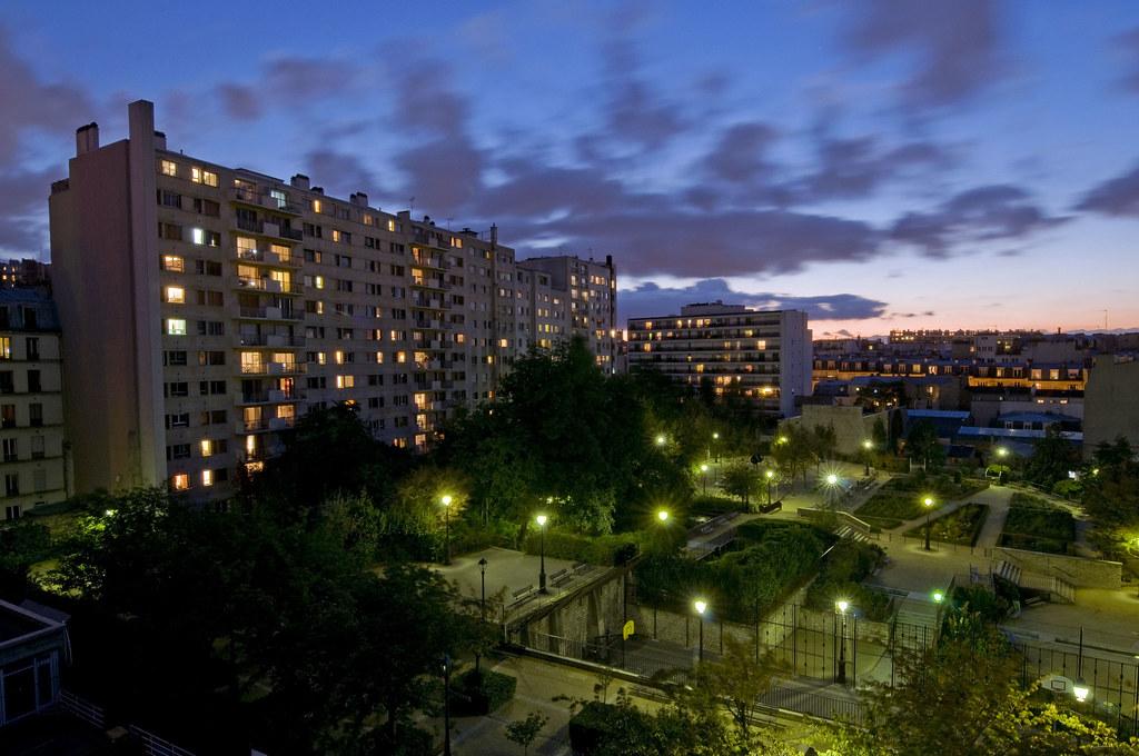 France Paris 75018 Le Square Lon Serpollet 1610