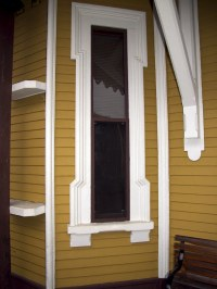 Narrow Window Trim Detail | I liked the detailing of this ...