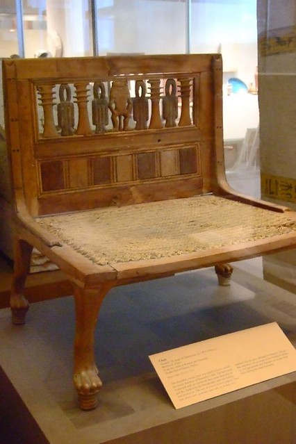 Chair Dynasty 18 reign of Hatshepsut 15th century CE  Flickr