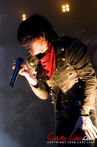 Projekt Revolution 2007 Gerard Way Of My Chemical Romanc