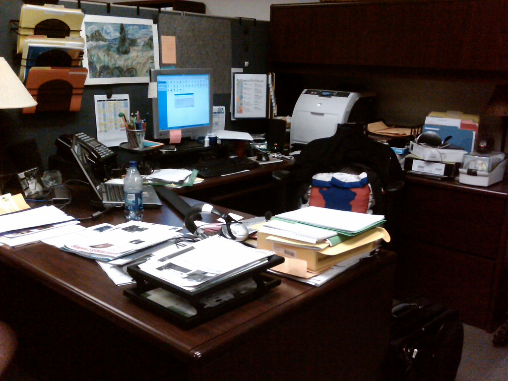 My Cluttered Office  Day 11609  I think its time