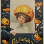 World Series Vintage Halloween Postcard Ellen H. Clapsaddle | series ...