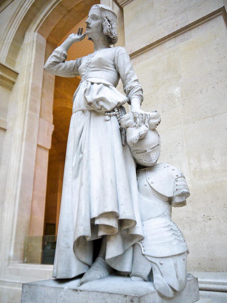 Jeanne dArc coutant ses voix Franois RUDE  Muse du   Flickr