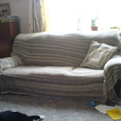 Crochet Sofa Cover Patterns Silver Leather Set And Cushion