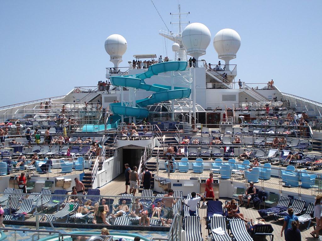 Carnival Liberty Lido Deck  Day at Sea  Victoria  Flickr
