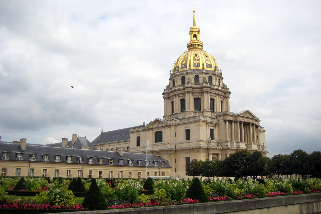 Paris  Htel des Invalides  Dme Church  The Htel des