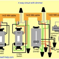 Outlet Switch Light Wiring Diagram Fender Strat 3 Way 4-way-dimmer | El Jefe Flickr