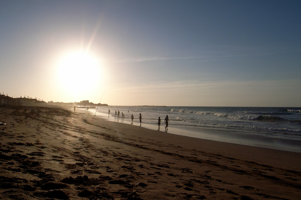 Sunset at Dar Bouazza beach near Casablanca Morocco  Flickr