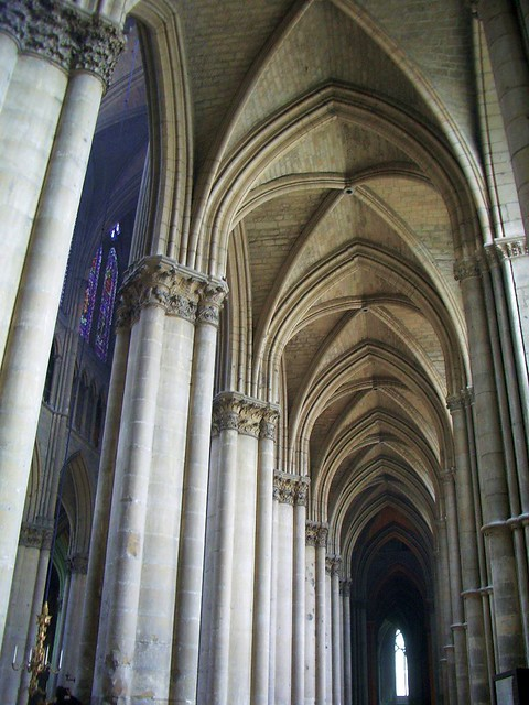 Reims Gothic Cathedral Interior Flickr Photo Sharing