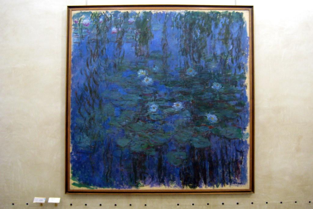 Paris  Muse dOrsay Claude Monets Nymphas bleus  Flickr