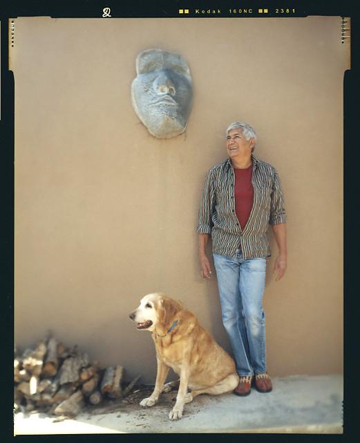 Portrait of Artist Michael Naranjo  Portrait of Artist