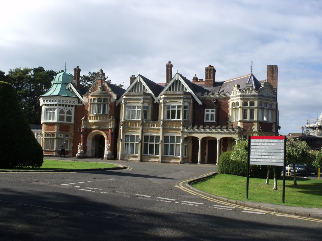 Bletchley Park House  Mansion  This is the mansion at Blet  Flickr