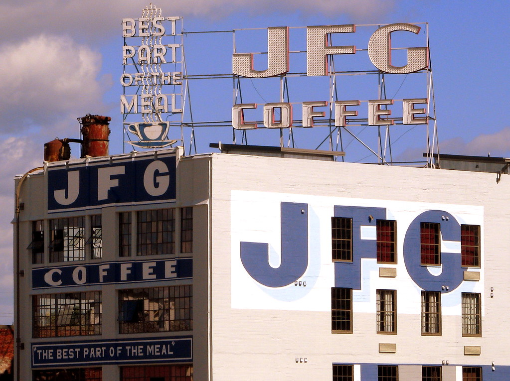 JFG Coffee JFG Coffee Was Started In Knoxville In 1919
