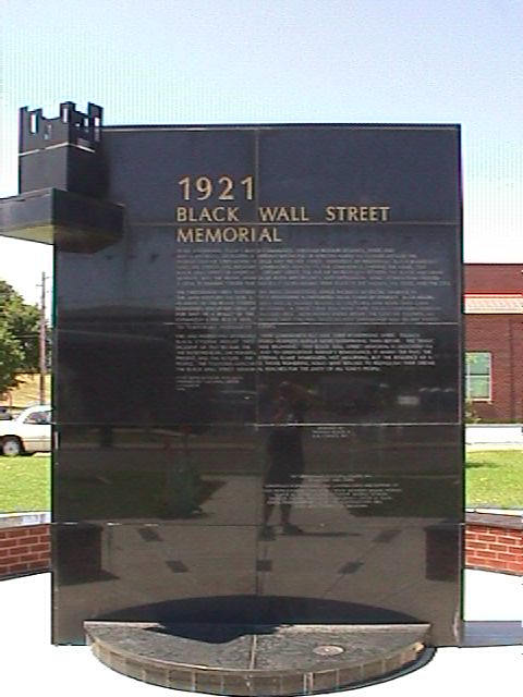 1921 Black Wall Street Memorial  Sony Mavica MVCFD7