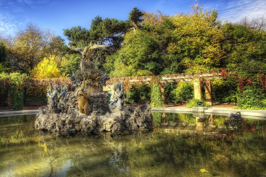 Park  Parque del Campo Grande Valladolid Spain HDR 2