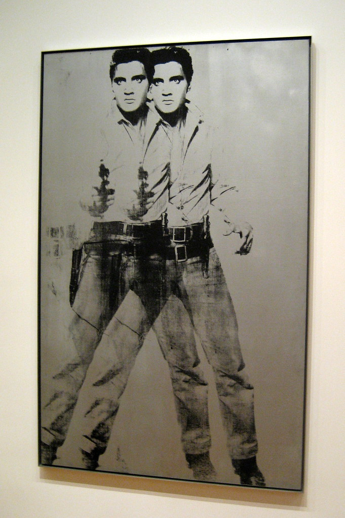 NYC  MoMA Andy Warhols Double Elvis  Double Elvis