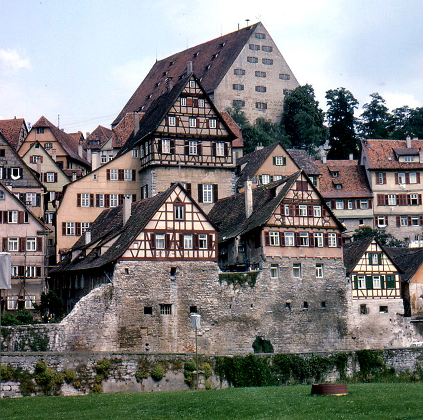 Schwbisch Hall  Neubau and HalfTimbered Houses  The