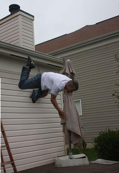Falling Off Roof Higher  rwestzz  Flickr