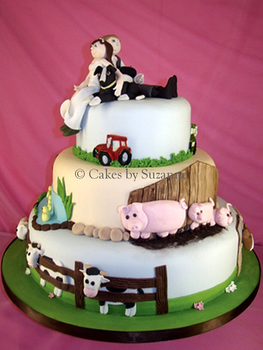 Farm Wedding Cake  Suzanne Mawhinney  Flickr